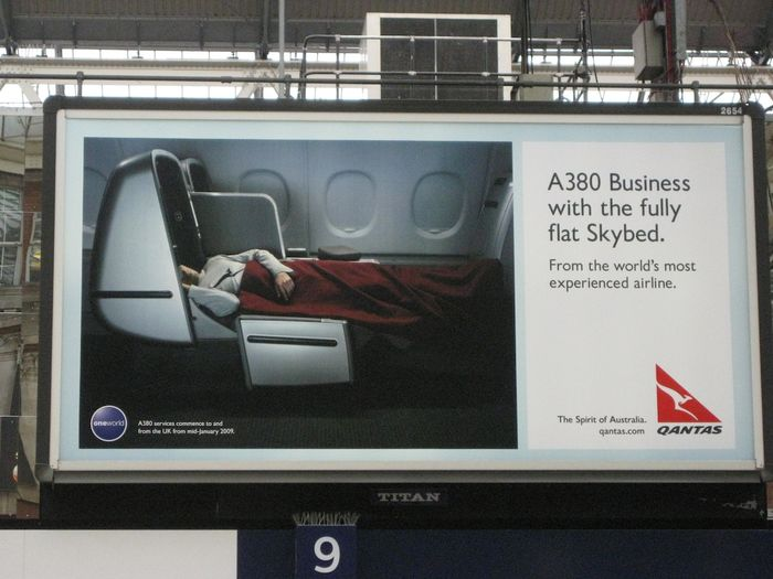 Qantas A380 advert