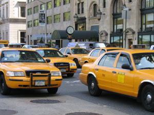 Yellow-cabs